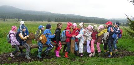 Deutsch-tschechische Begegnung von Kindern im Vorschulalter