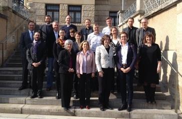 Die Teilnehmer/-innen am jüngsten AmS-Treffen in Stuttgart