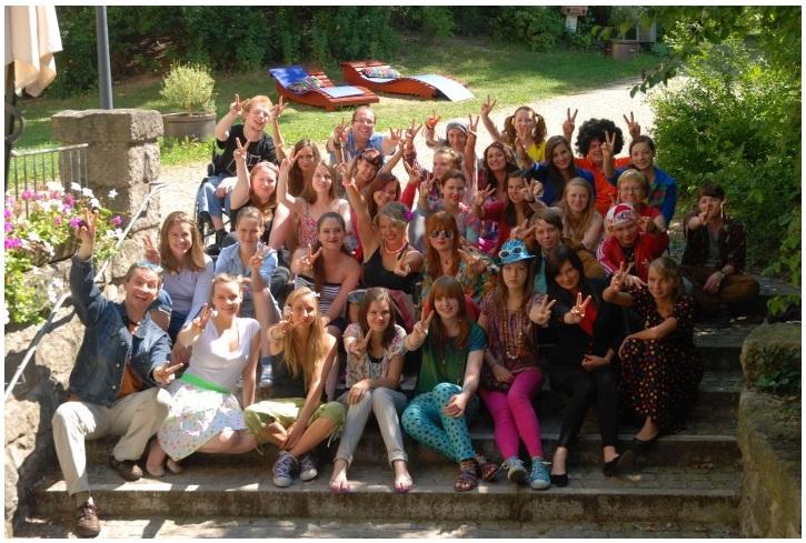 Die Teilnehmenden der 14. Medienakademie. (c) Jugendbildungsstätte