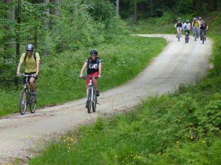 Viel Spaß hatten die Teilnehmer/-innen an der ahoj.info-Radtour