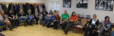 """30 Fachkräfte aus Deutschland und Tschechien nahmen am Tandem-Seminar """"Drogenprävention an Schulen"""" teil."""
