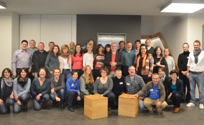 """Sehr groß war das Interesse am Seminar """"Transnationale Erinnerungsarbeit bei deutsch-tschechischen Jugend- und Schülerbegegnungen"""""""
