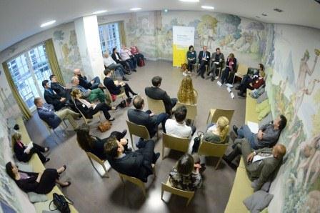 Parlamentarischer Abend 2014 // Diskussion in den Foren