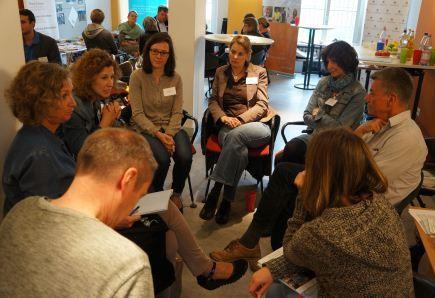 Info- und Vernetzungstag für den berufsorientierten Austausch
