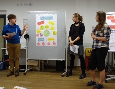 Zwölf junge Menschen aus Deutschland und Tschechien mit Affinität zum jeweiligen Nachbarland kamen vom 6. bis 8. November 2015 nach Nürnberg, um sich als Tandem-Juniorteamer/-innen ausbilden zu lassen.