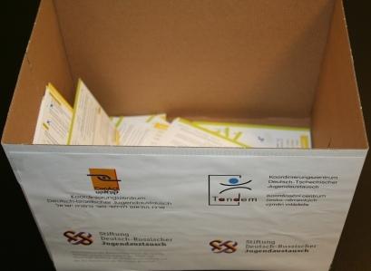 Am gemeinsamen Quiz von Tandem, DPJW, ConAct und Stiftung DRJA beteiligten sich 109 Kirchentagbesucher/-innen.