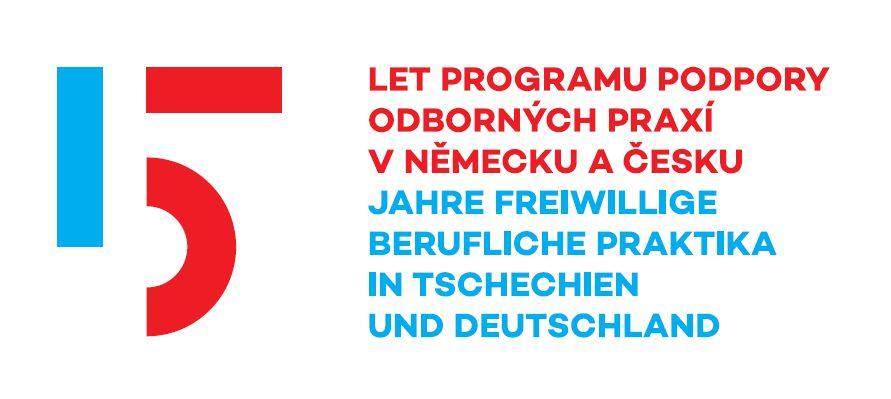 Logo 15 Jahre Programm Freiwillige Berufliche Praktika