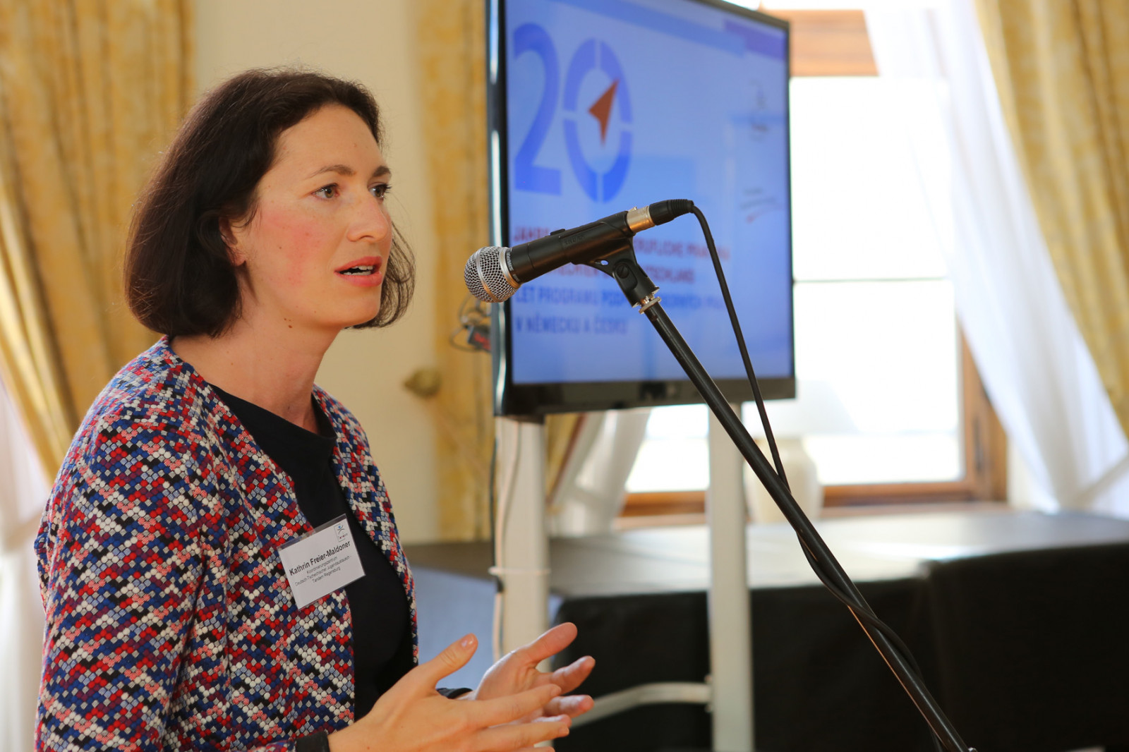 Kathrin Freier-Maldoner spricht