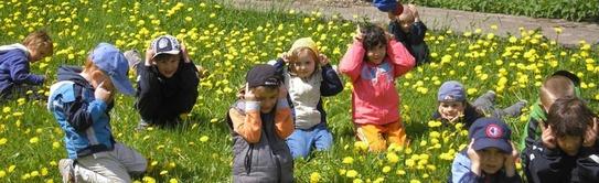 Begegnung von Kindern im Vorschulalter